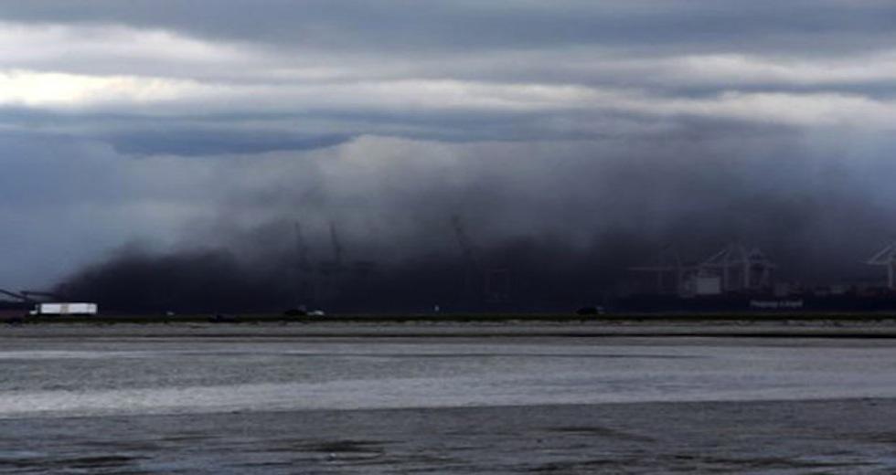 Westshore Terminal Coal Dust